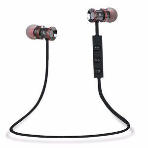 Bluetooth v4.1 Wireless Stereo Kopfhörer Sport Ohrhörer In Ear Bluetooth Headset