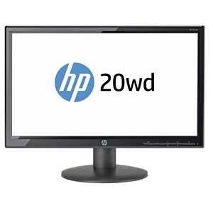 HP 20wd 19 Inch LED LCD Backlit PC Widescreen Monitor Screen