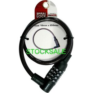 COMBINATION-LOCK-10MM-STEEL-CABLE-COMBINATION-LOCK-SPIRAL-BIKE-CHAIN-NEW
