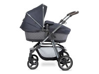 Pioneer Henley Special Edition - SilverCross £300 (Bassinet & all accessories incl. wool seat liner)