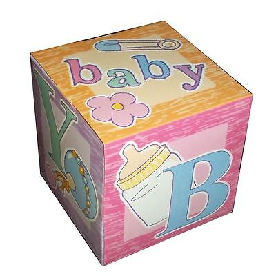 12 FUN COLORFUL BABY SHOWER GOODY BOXES 5