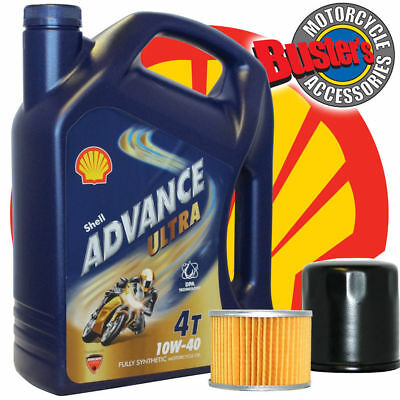 <em>YAMAHA</em> FZ600 87 88 FZ OIL FILTER 4 LITRES SHELL ADVANCE ULTRA FULLY SY