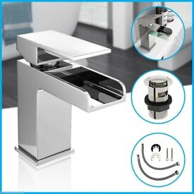 Waterfall Basin Mixer Tap - £45.00 only. Summer Sale