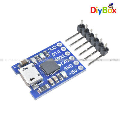 Micro Usb To Uart Ttl Module 6pin Serial Converter Cp2102 Stc Replace Ft232 D