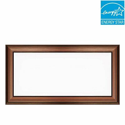 Commercial Electric 1 ft. 4 ft. 50W Dimmable LED Deco Panel Ceiling Flush Mount
