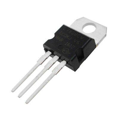 5 Pcs Positive 8 Volt Voltage Regulator 1.5 Amp To220 L7808 Lm7808 7808