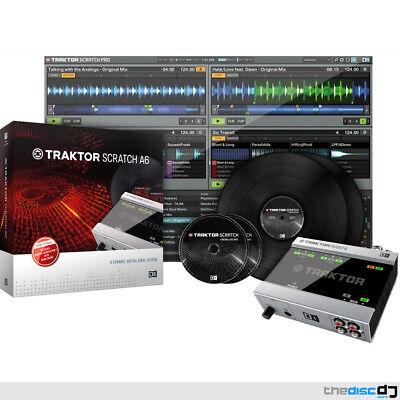 Native Instruments Traktor Scratch A6 Digital Vinyl System Timecode Software DVS