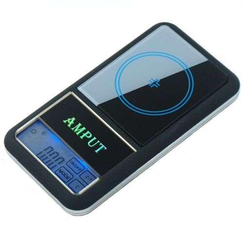 AMPUT 0.01g x 200g Precision Digital Pocket Scale with Touch Screen LCD Display