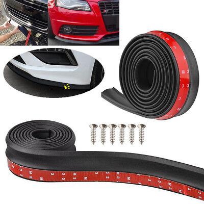 -  2.5M Car Front Bumper Lip Splitter Body Side Spoiler Protector Rubber Universal
