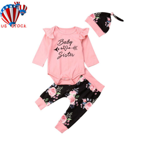 Newborn Infant Baby Girl Boy Clothes Jumpsuit Romper Bodysui