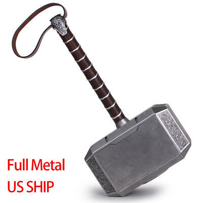 The Avengers Thor Hammer 1:1 Full Metal CATTOYS Replica Props Mjolnir Gifts - Avengers Hammer