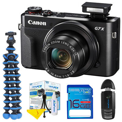 Canon PowerShot G7 X Mark II 20.1MP Digital Camera - Deal-Expo Starter Bundle