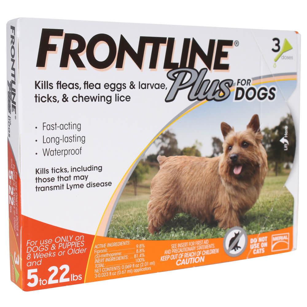 Купить FRONTLINE 287010 - 3-Pack Frontline Plus For Dogs Up To 22 lbs Genuine
