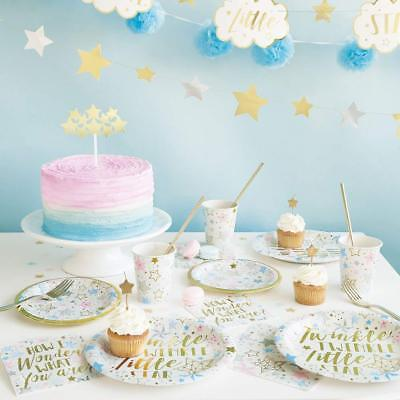 Twinkle Twinkle Baby Shower Party & 1st Birthday Party Tableware ()