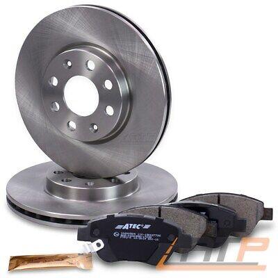 2 Bremsscheiben OPEL Corsa C ohne ABS vorneVorderachse VOLL 240 mm