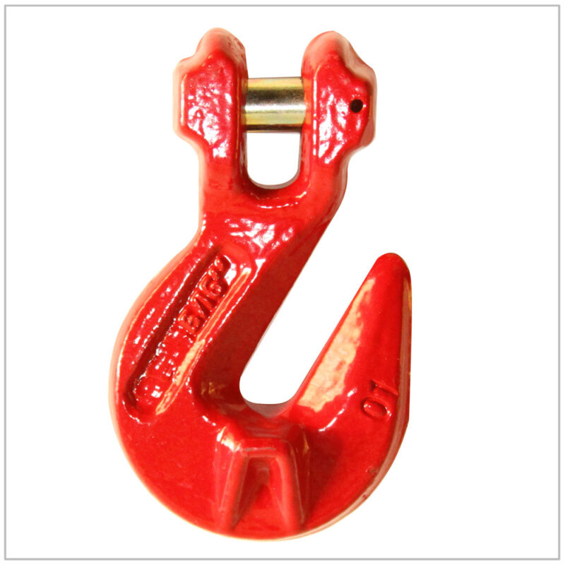 """9/32"""" G80 Clevis Cradle Grab Hook Alloy Chain FREE SHIP"""
