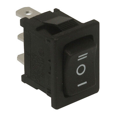 Rocker Switch On Off On Single Pole Double Throw Quick Connect Rocker 16  5 pcs
