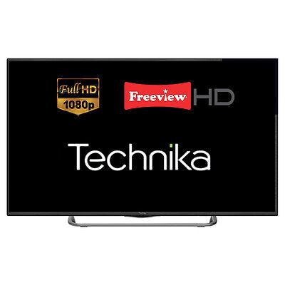 "Technika 50G22B-FHD 50"" Slim LED TV Full HD 1080p Freeview HD with JBL Speakers"
