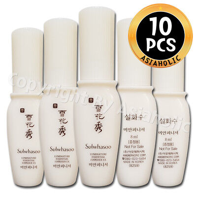 Sulwhasoo Luminature Essential Finisher EX 8ml x 10pcs (80ml) Sample Newist Ver