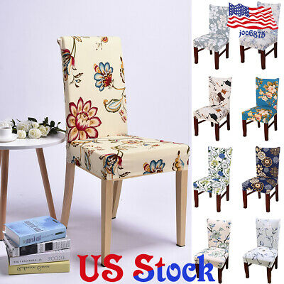 Decor Party Spandex Stretch Wedding Banquet Dining Room Seat Stretch Chair Cover](Wedding Room Decorations)