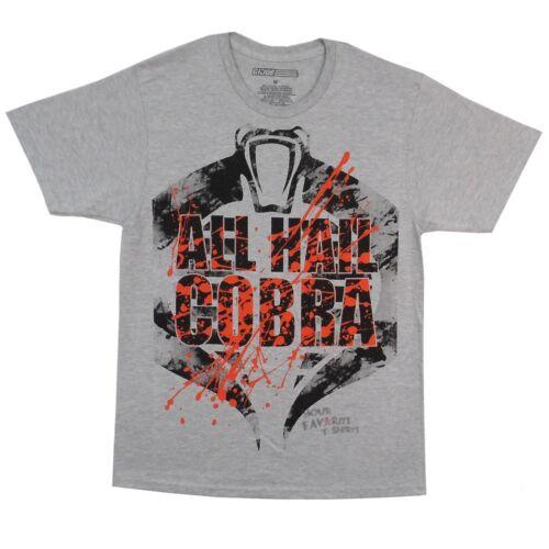 G.I Joe Cobra Army Logo 1982 Officially Licensed Adult T Shirt