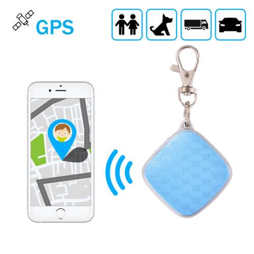 Mini GPS Tracker Key Personal Locator Realtime Finder Kids S