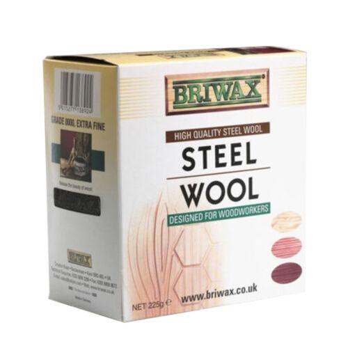Briwax Steel Wool Grade 0000