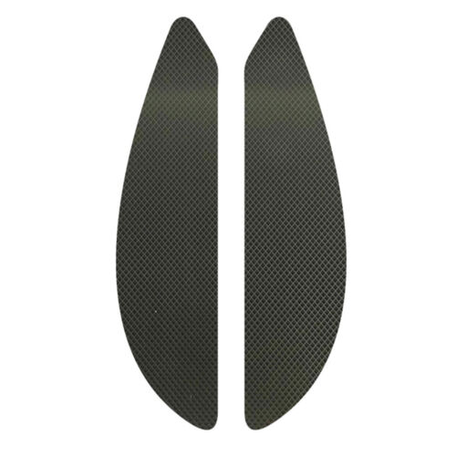 Black Rubber 3D Dots Gas Fuel Tank Traction Pad Anti Side Slip Protector for Honda CBR600RR 2007-2012