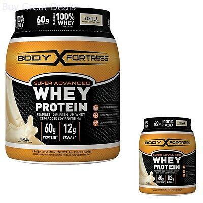Protein Powder Whey Advanced Build Lean Muscles Strenght Boost Post-Workout NEW