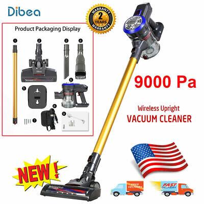 Dibea D18 Cordless Upright Vacuum Cleaner 2-in-1 Floor Handheld Vacum Stick NEW