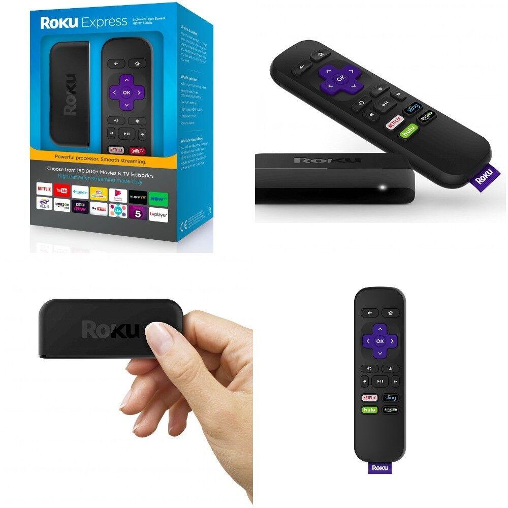 HD TV Media Streaming Player Stick Roku HDTV Digital Wireles
