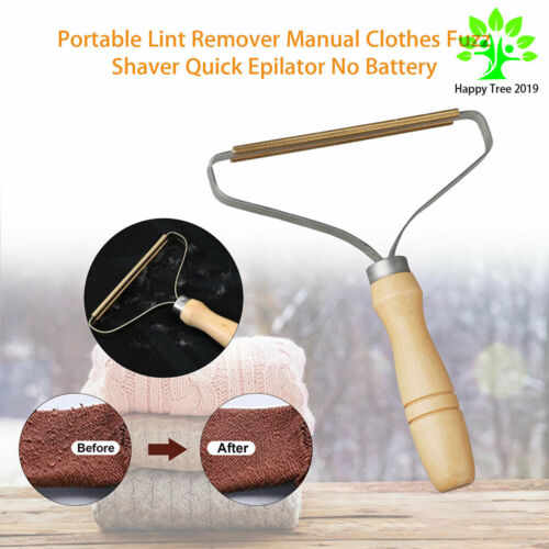 Lint Remover Pet Clothes Fuzz Fabric Shaver Removing Roller Portable Brush Tool