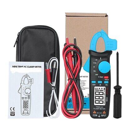2000 Counts Lcd Digital Clamp Meter Acdc Volt Amp Multimeter Handheld Tester