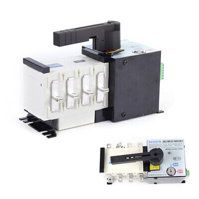 400v 100a 4p Dual Power Automatic Transfer Switch Generator Changeover Switch Us