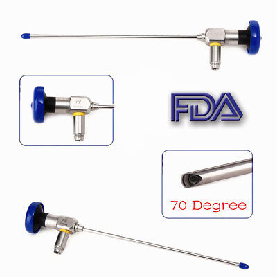 Ent Endoscope .4x175mmrigid Arthroscope Connector Fit For Storz Stryker Olympus