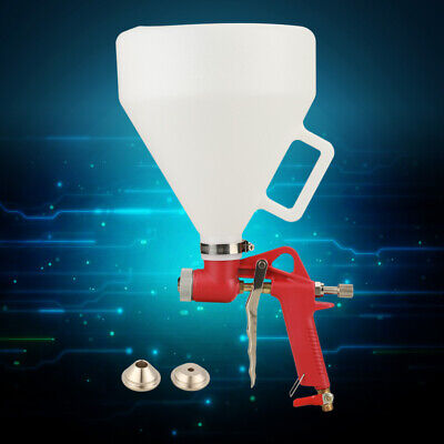 Air Hopper Gun Paint Texture Tool Drywall Wall Painting Sprayer W3 Nozzle New