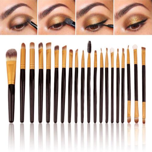 20PCS Eye Brushes Set Eyeshadow Blending Pencil Brush Make U