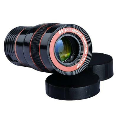 Supreme Kamera-Objektiv, Apexel 4-in-1, rot, für iPhone 6/6s