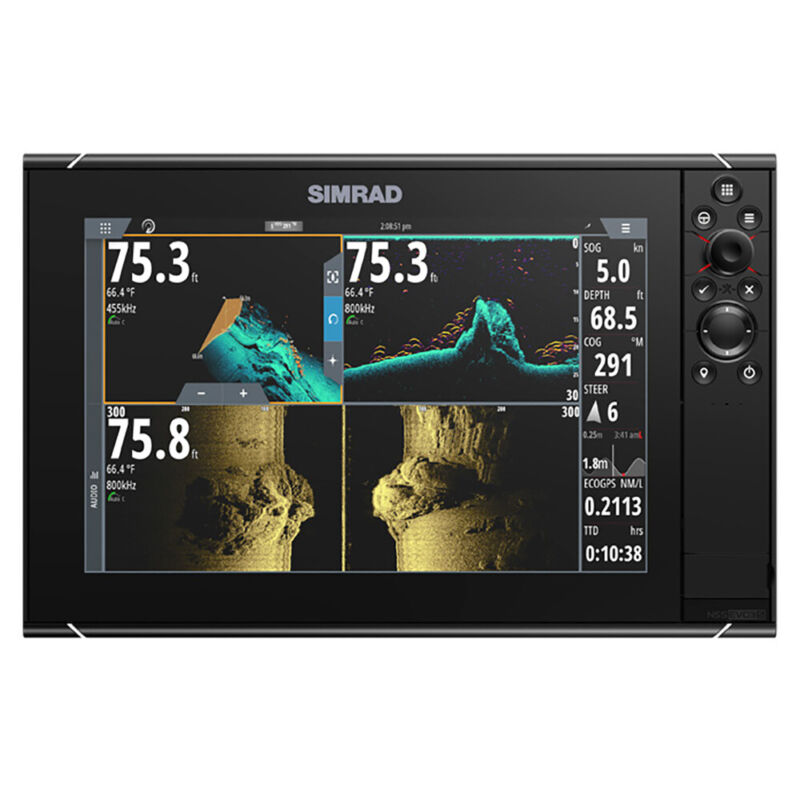 Simrad NSS12 evo3S Chartplotter/Fishfinder MFD
