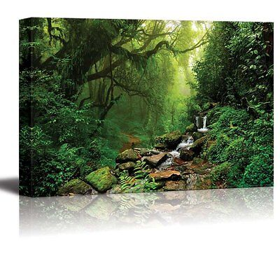 Wall26 - Canvas Wall Art Prints - Forest of Nepal | Modern Wall Decor- 24
