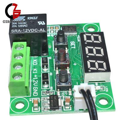 Digital Temperature Controller Thermostat Switch Sensor W1209 -50-110c 12v