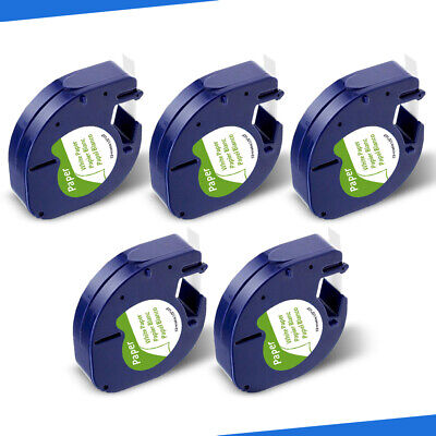 5pack Replace Dymo Letratag Refills 91330 10697 White Paper Fit Dymo Label Maker
