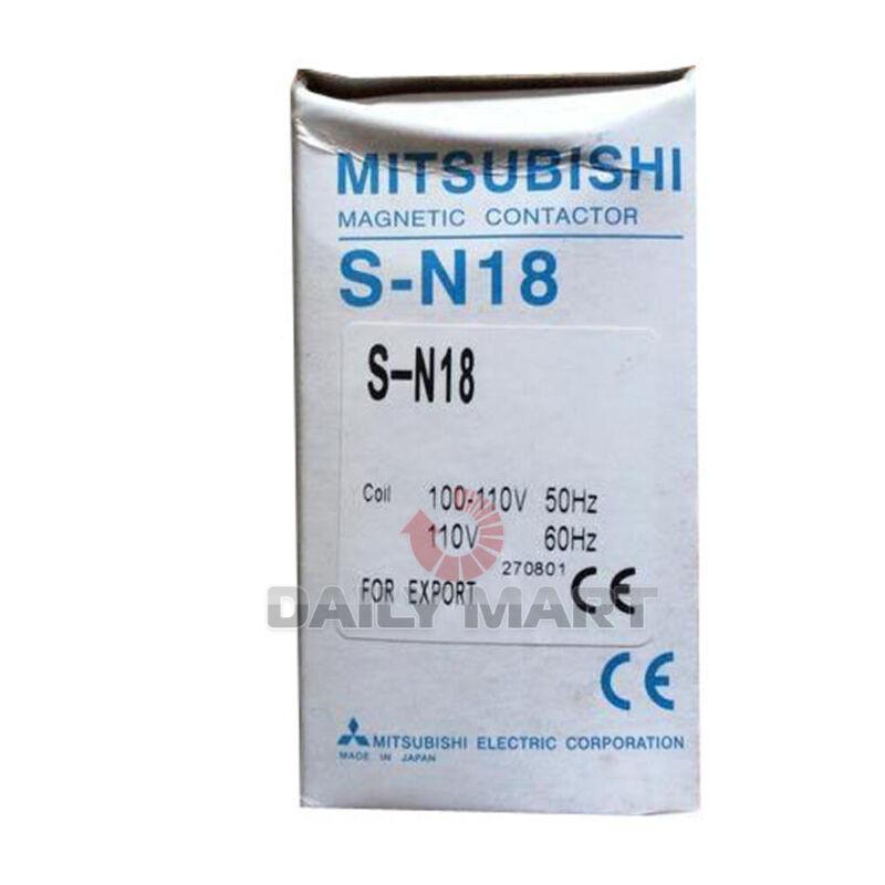 New In Box MITSUBISHI S-N18 Contactor AC220V