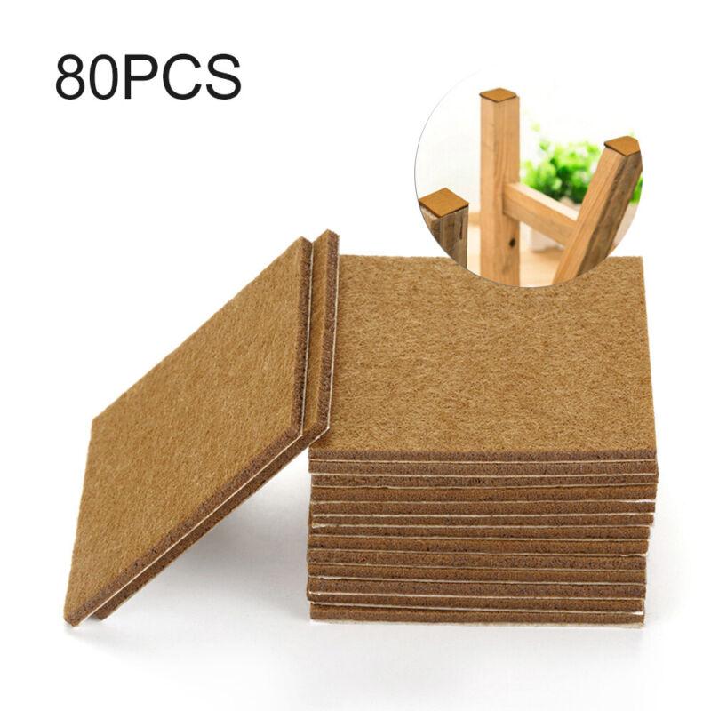 80pc Self Adhesive Felt Furniture Pads