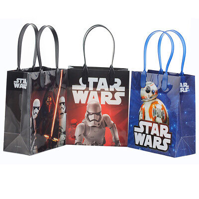 Star Wars Favor Bags (12 PCS Disney Star Wars Authentic Goodie Party Favor Gift Birthday Loot)