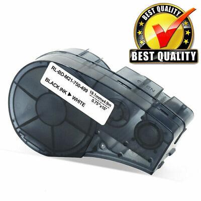 1pcs Nylon For Brady M21-750-499 Label Tape Black White 34 X 16
