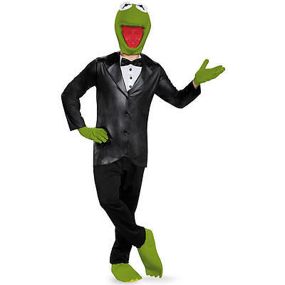 The Muppets - Kermit Deluxe Adult Men's Costume
