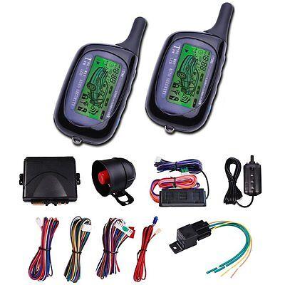 3000ft 2 Ways FSK communication range Car LCD Alarm Auto Security System (Communication Range)