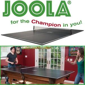 NEW JOOLA Conversion Table Tennis Top with Net and Post, 15mm Condtion: New, No shipping