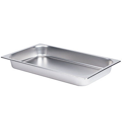 Steam Table Pan Full Size 2.5 Inch Deep Stainless Steel